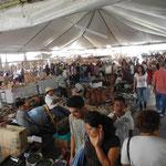 Der Kunsthandwerkermarkt in Uruapan