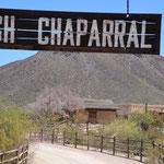 """Old Tucson - Schauplatz der Serie """"High Chaparral"""" in den 60er Jahren"""