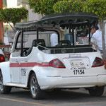 Taxi in Mazatlan