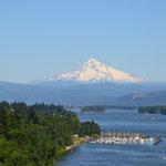 Überquerung des Colombia River von Oregon nach Washington
