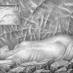 Sofia de las piedras / A4 /   lápiz mec.
