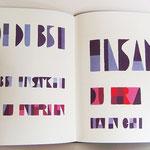 """""""In tiefen Nächten""""   2011, Wortbilder zum Gedicht von R. M. Rilke  Format 43/30 cm, Leineneinband mit Bild, 15 Exemplare, nummeriert, signiert       Preis 300.- €"""