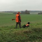 Bei der Jagd