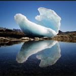 Ice Shell - (Grönland, Arktis, Wasser, Eis, Spiegelung, Blau, Weiss) - Bildrechte jetzt günstig erwerben?