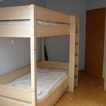 Etagenbett im Schlafzimmer