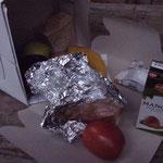 typische Lunch-Box