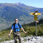 am Eiger - Blick ins Tal