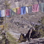Blick vom Annapurna View Point auf Manang