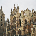 die Kathedrale in Leon