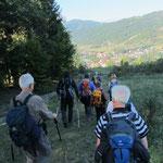 Wanderung ins Tal