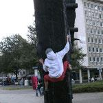 Das Arbeiterdenkmal am Essener Hbf