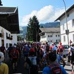 wir rennen durch Garmisch