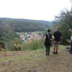 Aussicht auf Hirschbach