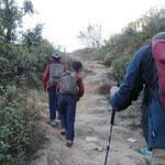 ein letzter Anstieg nach Chisapani