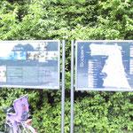 Hinweistafel im Südpark