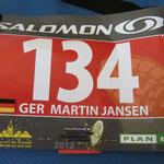 134 - meine Startnummer