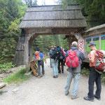 am Eingang Dolina Biatego