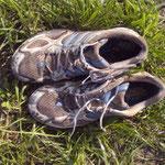 meine Schuhe haben ausgedient - ein würdiger Abschluss