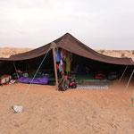 unser Zelt Nummer 6