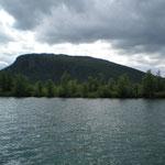 Bootsüberfahrt in Kvikkjokk