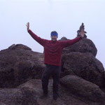 auf dem Lava-Tower