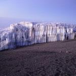 haushohe Gletscher