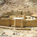 das Kloster von oben