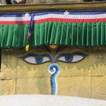 die allsehenden Augen Buddhas
