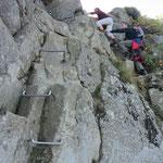 leichte Kletterei