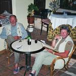 Wolfgang und Olli - unsere treuen Weggefährten