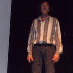 Hans Kammerlander auf der Bühne