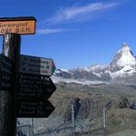 Rückweg nach Zermatt