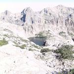 Bergsee vor der Breche