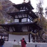 Besuch des hindustischen Klosters in Muktinath