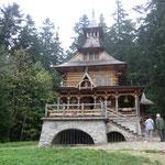 die Waldkapelle in Jaszczurowka