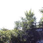 Ende der Brücke
