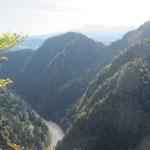 Ausblick auf den Dunajec