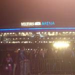 die Arena auf Schalke ist erreicht