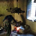 Teepause in der nepalischen Küche