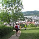 weiter Richtung Rhein
