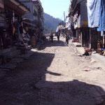 in Nayapul endet das Trekking - schön wars!