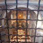 Blick von der Mittelempore nach unten