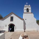 die Kathedrale von San Pedro de Atacama