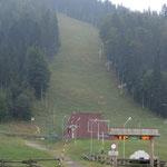 der Skihang von Zakopane