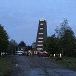 """der Wendepunkt """"Rhein-Weser-Turm"""" (km 57)"""