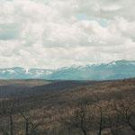 Berge an der spanischen Nordküste