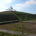 Blick auf die Heinrich-Hildebrandt-Höhe