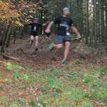 Denis im Downhill - fast zu schnell für die Kamera