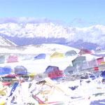 Blick übern Pass ins neue Tal