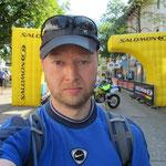 am Start in Garmisch